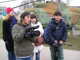 Николаевские десантницы станут героинями документального фильма, знакомящего жителей Японии с Украиной