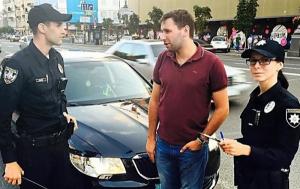 В Киеве патрульная полиция оштрафовала народного депутата