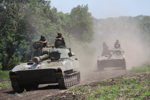 В зоне АТО шестеро украинских военнослужащих получили ранения
