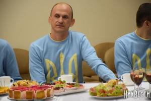 В Николаеве паралимпийцев, вернувшихся из Рио, чествовали как героев