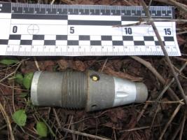В Николаеве на улице нашли устройство для подрыва артиллерийских снарядов