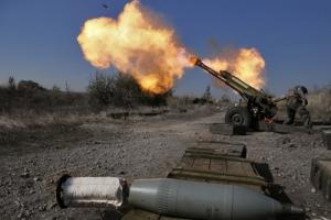 За день боевики обстреляли позиции украинских военных 64 раза
