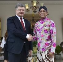 Индонезия откроет свои ВУЗы для украинских студентов: Порошенко встретился с Султаном Хаменгкубувоно Х