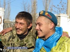 В Николаев вернулись «киборги», которые защищали Донецкий аэропорт