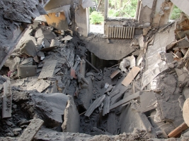 За два месяца сумма капремонта дома на  ул. Молодогвардейской, где взорвался газ, выросла более чем на 100 тыс. грн.