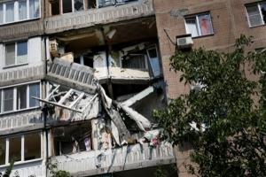 Ночью артобстрелу подвергся Киевский район Донецка. Мирные жители не пострадали