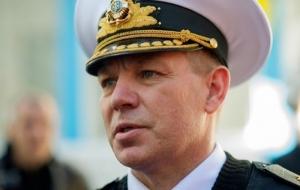 Порошенко уволил командующего Военно-морских сил Украины