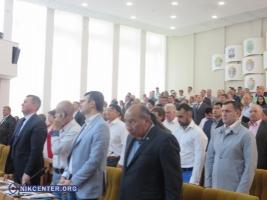 Сессия Николаевского облсовета началась с минуты молчания и заявлений о недоверии Соколову