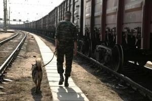 Одесские пограничники предотвратили кражу угля с грузового поезда