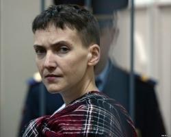 Надежда Савченко находится в тяжелом состоянии