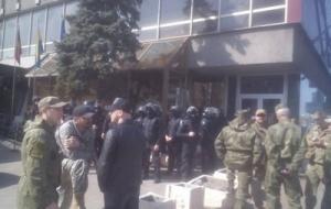 За попытку захвата отеля в Киеве задержаны 43 человека