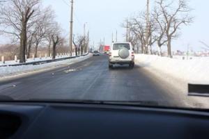Николаевские дорожники отчитались о борьбе со снежной стихией