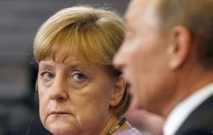 Меркель и Олланд призвали Путина оказать влияние на вооруженных сепаратистов на востоке Украины