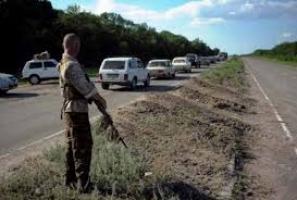 Вчера гуманитарным  коридором из Луганска воспользовались 100 автомобилей