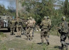 Украинская сторона готова отвести войска из буферной зоны только одновременно с боевиками - Лысенко