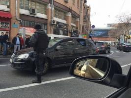 В центре Киева произошла перестрелка, есть пострадавшие