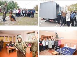 Николаевские гвардейцы провели «День открытых дверей» для школьников
