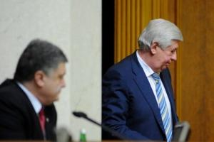 Порошенко подтвердил увольнение Шокина и начал консультации по поводу его преемника