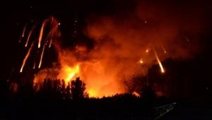 Прячась от наблюдателей ОБСЕ, боевики обстреливают по ночам - карта АТО за 18 июля