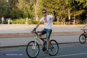 На день 225-летия города в Николаеве прошёл веломарафон