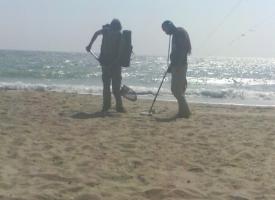 В Одесской области ищут клад на пляжах