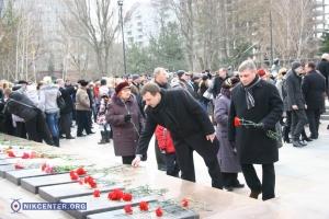 В Николаеве  почтили память освободителей города
