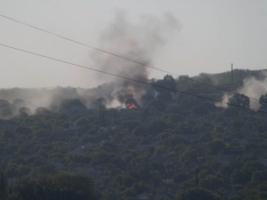 Под Мукачево начался бой с использованием вертолета - СМИ