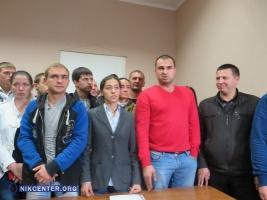 Николаевские активисты и участники АТО не попали в ряды новой патрульной полиции