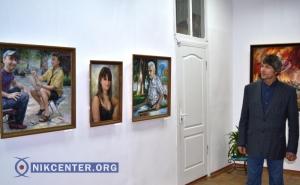 В Херсоне открылась выставка работ необычного художника