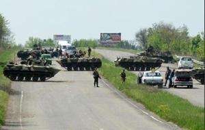 С сегодняшнего дня перекрыто движение транспорта между Донецком, Курахово и Волновахой