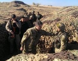 Порошенко поехал в зону АТО проверять боеготовность украинской армии