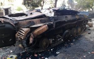 Бойцы ВСУ подбили атаковавший их вражеский БМП-1
