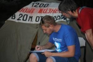 Протестующие установили палатку на месте незаконного строительства АЗС в Николаеве