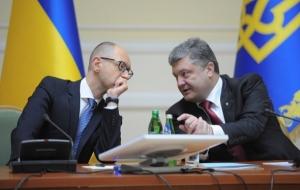 Яценюк и Порошенко не смогли договориться о походе на внеочередные парламентские выборы единым списком