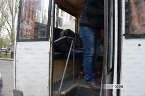 Задержанный в николаевской маршрутке пьяный оказался уголовником в розыске