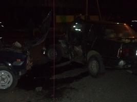 На Николаевщине столкнулись две легковушки, есть пострадавшие