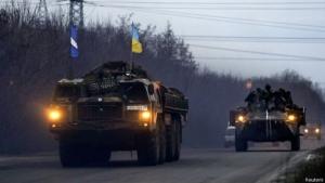 Отведение войск в Станице Луганской отложен из-за обстрелов