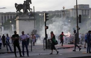 Евро-2016: во время массовых беспорядков во Франции задержаны 40 человек