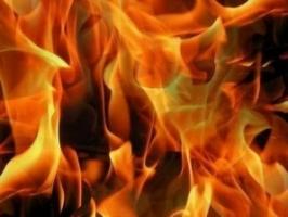 В Одессе во время пожара в многоэтажке сгорела женщина