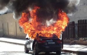 На Херсонщине в ДТП сгорел мужчина, второй получил серьезные ожоги