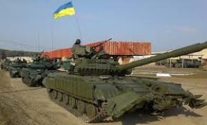 Украинские танкисты расстреляли группу сепаратистов