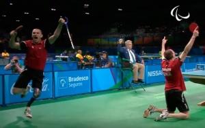 Украинские теннисисты завоевали золото Паралимпиады