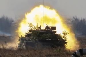 За минувшие сутки украинские военнослужащие уничтожили 83 боевика