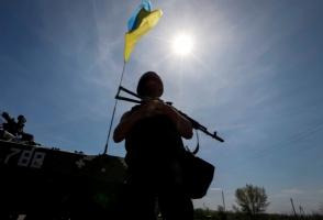 За сутки в зоне АТО ранены 7 украинских военных - штаб