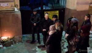 В Одессе почтили память погибших французских журналистов