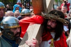 Одесситов приглашают участвовать в реконструкции казни Христа