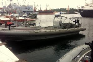 Украинский спецназ получил от США новые скоростные катера