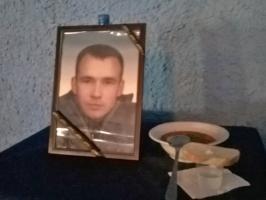В Новоодесском районе провели в последний путь 27-летнего бойца, погибшего в АТО