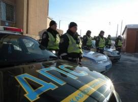 В Николаев из зоны АТО вернулись инспекторы ГАИ