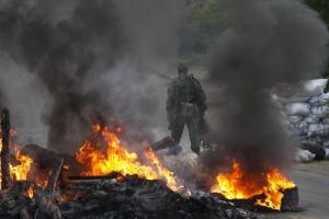 В Луганской области из «Градов» обстреливают Новотошковку